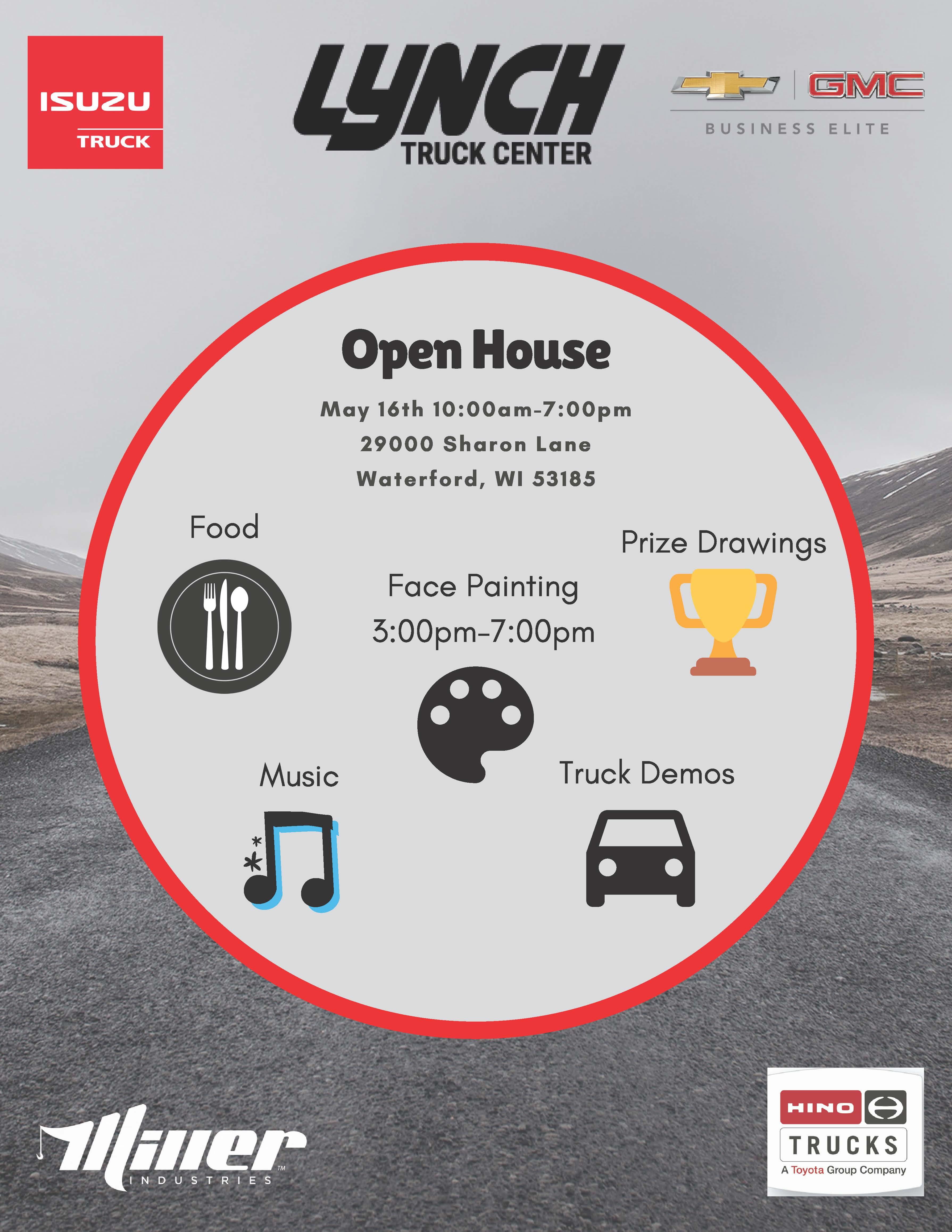 Lynch Burlington Wi >> Open House At Lynch Truck Center Burlington Chamber Of Commerce