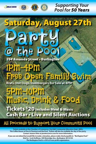 Party At The Pool Burlington Chamber Of Commerce